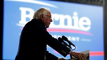 Kein Rückzug, aber ...: Sanders will mit Clinton zusammenarbeiten