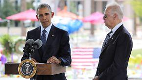 Nach Massaker in Orlando: Obama plädiert erneut für schärfere Waffengesetze