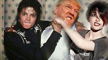 Tochter Paris lässt es krachen: Michael Jackson verkloppt Donald Trump