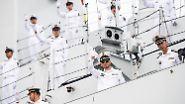 Kieler Woche: Kleine Marine-Parade im Norden