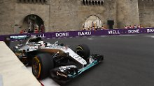 Formel-1-Qualifikation in Baku: Wer kann Lewis Hamilton stoppen?