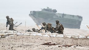 Manöver an russischer Grenze: Steinmeiers Nato-Kritik löst Koalitionsstreit aus