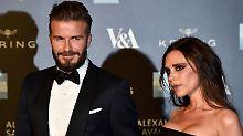 Liebe auf den ersten Blick: Beckhams plaudern aus dem Nähkästchen