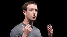 Mark Zuckerberg weiß sich zu helfen. Foto:Alberto Estévez