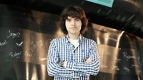 Mit seiner Erfindung hat Boyan Slat den Champion of the Earth-Preis der Vereinten Nationen gewonnen.