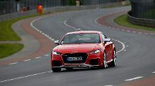 Der Audi TT RS wird im Herbst zu Preisen ab 66.400 Euro auf den Markt kommen.