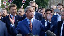 """Nigel Farage nach Brexit-Wahlsieg: """"Die EU stirbt"""""""