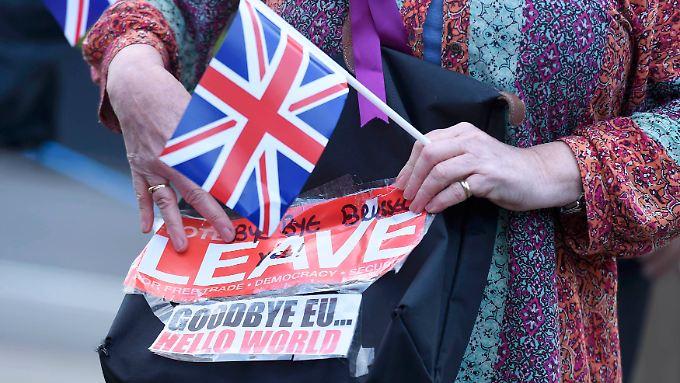EU-Gegner in London