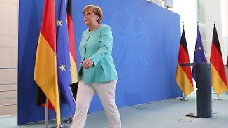 """Brexit-Reaktionen aus Berlin: Merkel warnt vor """"schnellen und einfachen Schlüssen"""""""