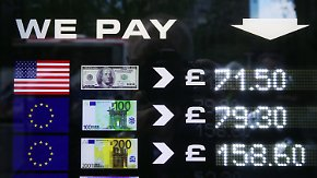 Kursrutsch nach dem Brexit: Der Absturz des britischen Pfunds hat auch Vorteile