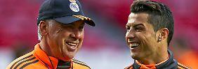 """""""Er lebt für den Fußball"""": Ancelotti nimmt Ronaldo in Schutz"""