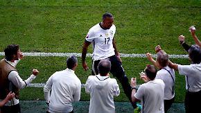 Weltmeister in Titellaune: Boateng schießt erstes Tor im Nationaltrikot