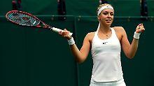 Djokovic siegt souverän: Lisicki glückt Wimbledon-Auftakt