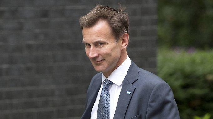 Jeremy Hunt soll der erste britische Minister sein, der sich für ein Folge-Referendum ausspricht.