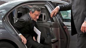 Wirtschaftliche Auswirkungen: Draghi warnt vor weniger Wachstum durch Brexit