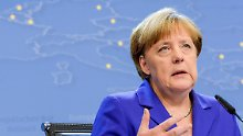 Merkel stellt klar: Das Sparen geht weiter.