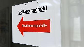 Nach Brexit-Referendum: Debatte um Volksentscheide in Deutschland entbrennt neu