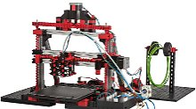 Cleverer Fischertechnik-Bausatz: Dieser 3D-Drucker ist zum Selberbauen