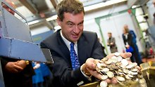 Entwurf für Steuerentlastungen: CSU: Spitzensteuersatz erst ab 60.000 Euro
