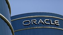 Am Oracle-Campus in Redwood City, Kalifornien.