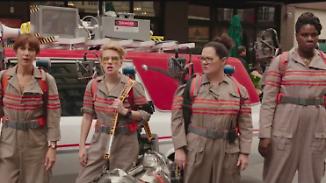 Frauen als Hauptdarsteller: Ghostbusters-Remake löst Shitstorm im Netz aus
