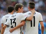Mit Dreierkette, ohne Draxler: Löw baut DFB-Elf gegen Italien um