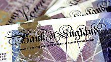 Das Pfund ist seit der Brexit-Entscheidung deutlich abgewertet worden.