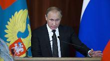 Kritik von Snowden: Putin setzt Anti-Terror-Gesetze in Kraft