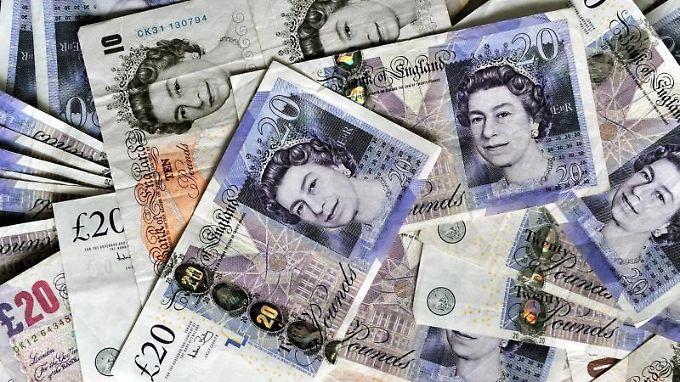 Die Unterhauswahl setzt Premierministerin May und damit auch das Pfund unter Druck.