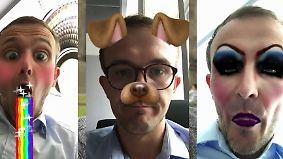 Den Trend verpennt?: So funktionieren die Snapchat-Filter