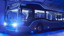 """Wenn es nach dem Willen von Mercedes geht, dann könnte der """"Stadtbus der Zukunft"""" bereits ab 2020 auf öffentlichen Straßen rollen."""