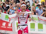 Hier jubelt der Weltrekordler: Jan Frodeno.