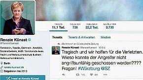 n-tv Netzreporter: Künast löst mit Tweet zur Würzburg-Attacke Shitstorm im Netz aus