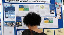 74 Prozent ohne Ausbildung: Viele Flüchtlinge nur für Hilfsjobs geeignet