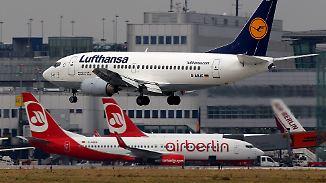 Retter in der Not?: Lufthansa will offenbar bei Air Berlin einsteigen