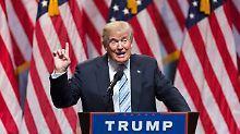 Präsident Donald Trump: Jetzt ist es Zeit, sich Sorgen zu machen