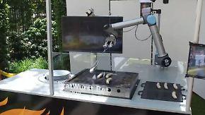 Grillmeister, Barkeeper und Servicekraft: Diese Roboter sollen den Menschen dienen