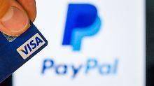 Wollen in Zukunft zusammenarbeiten: Visa und Paypal