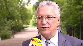 Axt-Attentäter nicht genügend überprüft?: Bayerns Innenminister Herrmann fordert strengere Grenzkontrollen