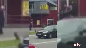 Attentäter schießt um sich: Erste Bilder vom Anschlag in München