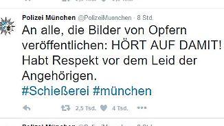 München-Angriff auf Twitter, FB und Co.: Videos und Spekulationen im Netz ärgern Polizei