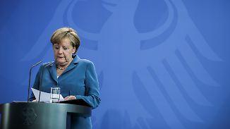 """Merkel zum Amoklauf in München: """"Wir leiden mit Ihnen"""""""