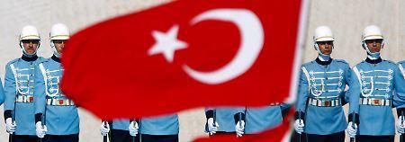 Ist nun Geschichte: die türkische Präsidentengarde
