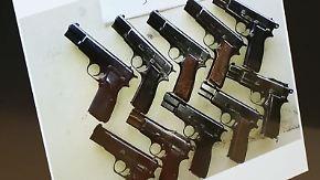 Rund 20 Millionen nicht registrierte Waffen: Illegaler Handel im Internet nimmt zu