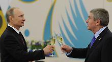 """""""Heuchelei"""" und """"Lügen"""" in Russland?: Neue Dopingvorwürfe belasten auch Putin"""
