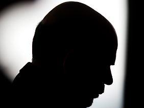 Mann im Schattenriss: Ben Bernanke beim Nachdenken.