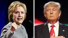 """Trump gegen Clinton: """"Professionalität entscheidet die Wahl"""""""