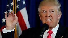 """""""Ermutigung zur Spionage"""": Trump: Russland soll Clintons E-Mails finden"""