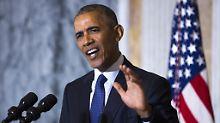 Kritik ebbt nicht ab: Obama knöpft sich Trump vor