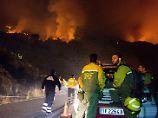 Notdurft im Naturpark von La Palma: Deutscher entfacht mit Klopapier Waldbrand